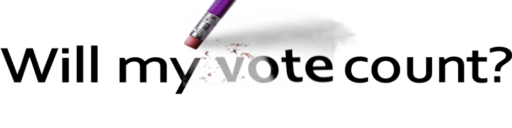 Will My Vote Count? Logo